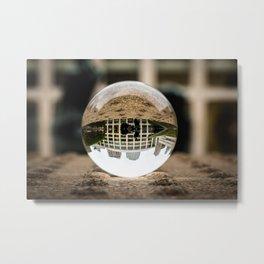 Lincoln Center Crystal Ball Metal Print