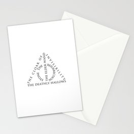 The Deathly Hallows Stationery Cards