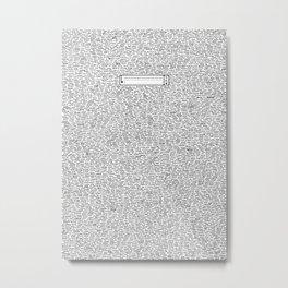 Securitee Metal Print