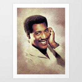 Otis Redding, Music Legend Art Print