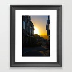 Sundown  Framed Art Print