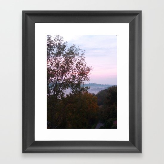 Mist of Dawn Framed Art Print
