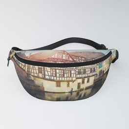 Traditional timbered houses Fanny Pack