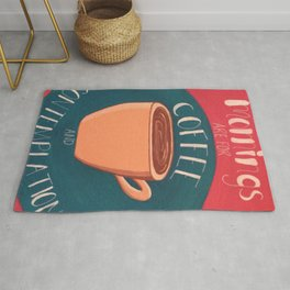 Coffee and Contemplation Rug