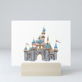 Princess Castle / Sleeping Beauty / Disneyland / Fine Art Giclee Print Mini Art Print