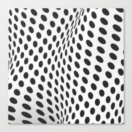 Hypno Dots 1 Canvas Print