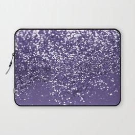 Sparkling ULTRA VIOLET Lady Glitter #1 #shiny #decor #art #society6 Laptop Sleeve