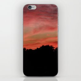 Sunset to end the day iPhone Skin