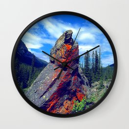 Mysterious, Magical Rock Wall Clock