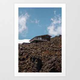 Mansion of the Mountain Art Print