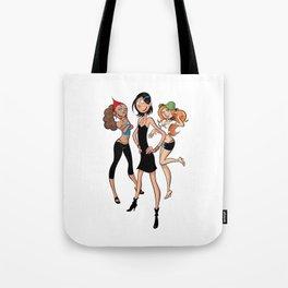 Les Nombrils - Vicky, Karine et Jenny Tote Bag