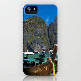 Maya Bay, Koh Phi Phi Leh iPhone Case