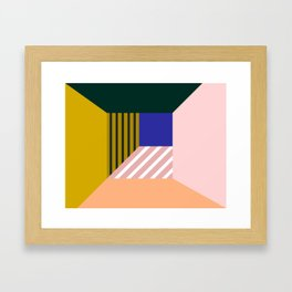 Abstract room b Framed Art Print