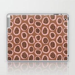 Raw brush minimal fruit garden abstract circle pattern Laptop & iPad Skin