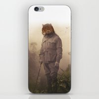 jungle iPhone & iPod Skins featuring Jungle Jaguar by Chase Kunz