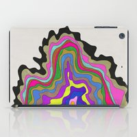 coasters iPad Cases featuring Color Wave by Georgiana Paraschiv