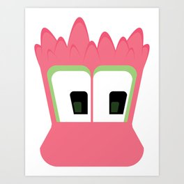Bubble Beasts: Spiking Goo Art Print