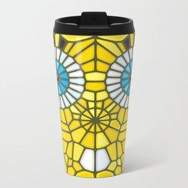 Spongebob Voronoi Metal Travel Mug