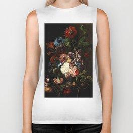 "Ernst Stuven ""Still life of flowers"" Biker Tank"