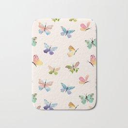 Beautiful Butterflies Bath Mat