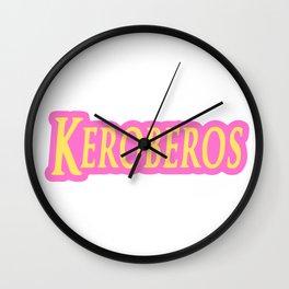 Keroberos Card Anime captor cute kawaii Wall Clock