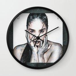 Demilovato Demi Wall Clock