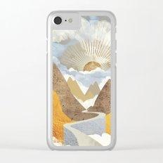 Bright Future Clear iPhone Case
