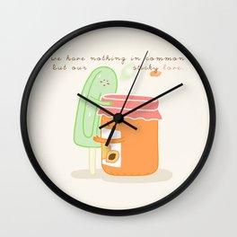 Sticky Love Wall Clock
