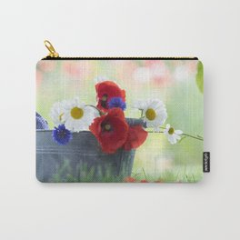 Poppies Symphonies Carry-All Pouch