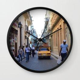 Corriente humana Wall Clock