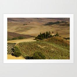 Val D'Orcia - Tuscany - Italy Art Print
