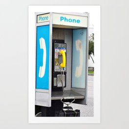Where have all the pay phones gone? #3 Art Print