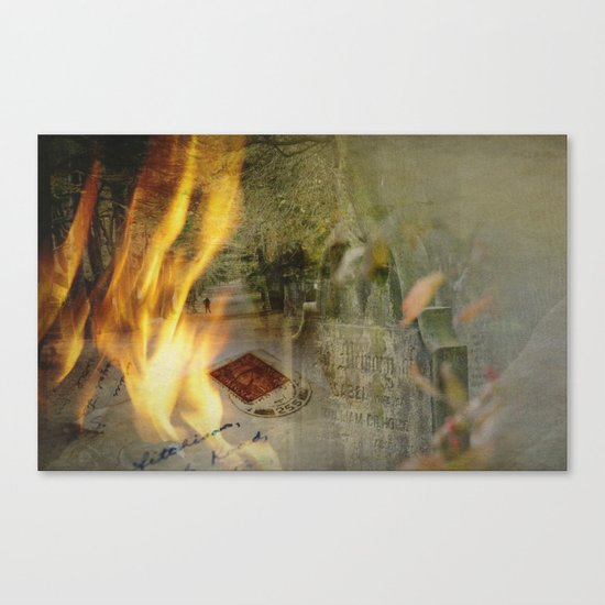 Silence of memory Canvas Print