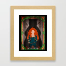 Shadow Collection, Series 1 - Arrow Framed Art Print