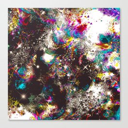 Rainbow Nebula Canvas Print