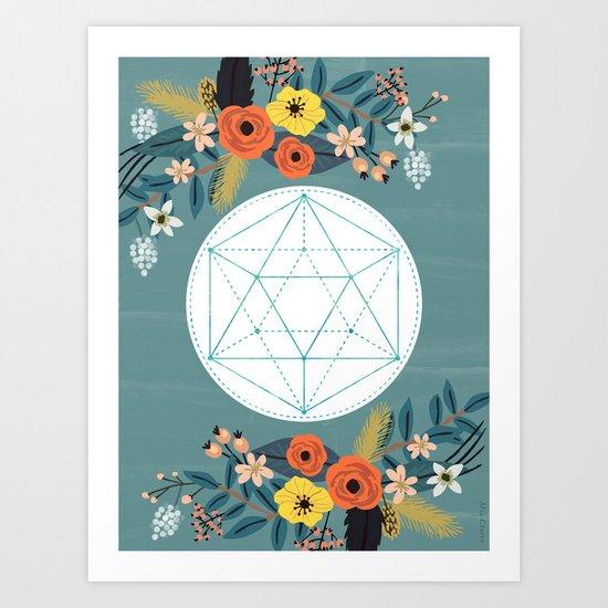 Sacred Geometry 3 Art Print