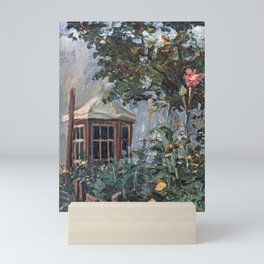 Flower Garden, by Egon Schiele Mini Art Print