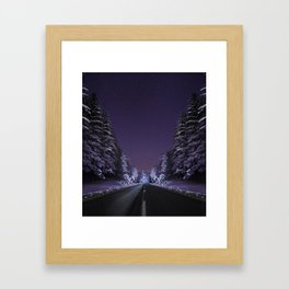 Road to Infinity Framed Art Print