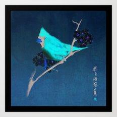 Ancient Bird Art Print