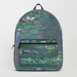 Water Lilies Monet 1905 Backpack