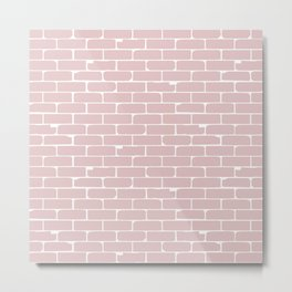 Pale Wall Background Metal Print