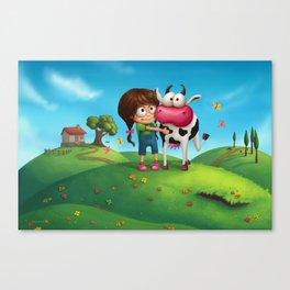 My Moo Canvas Print