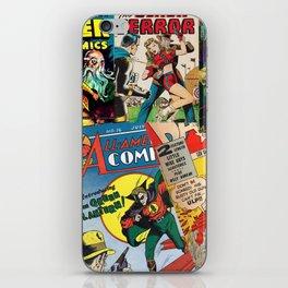 Comics Collage iPhone Skin