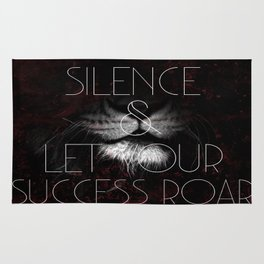 Let Success Roar! Rug