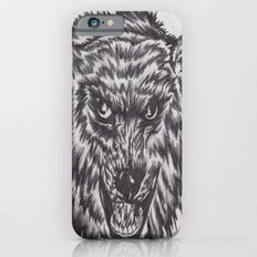 Angry wolf iPhone 6s Slim Case