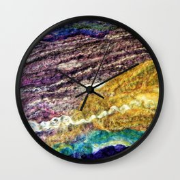 Sheer Fashion - Amethyst II Wall Clock