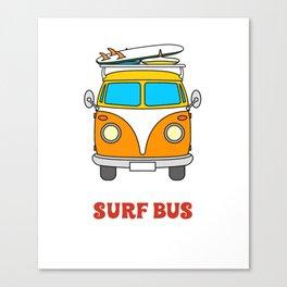 Surf T-Shirt Canvas Print