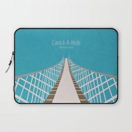 Carrick-A-Rede Rope Bridge Laptop Sleeve