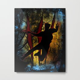 Beast From Backwoods Metal Print