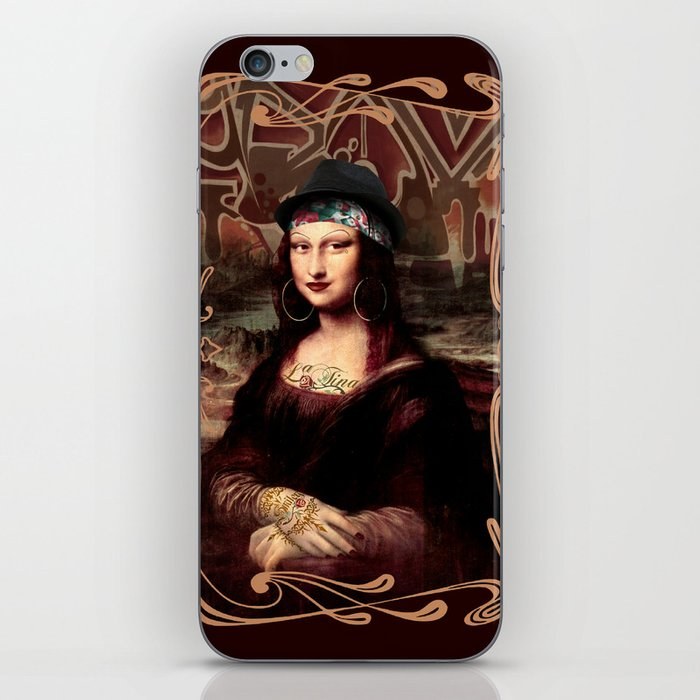 Chicana Mona Lisa iPhone Skin